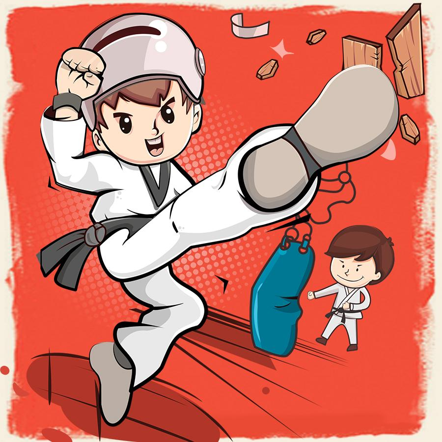微传单-跆拳道